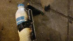 Φωτογραφίες: Τα «πολεμοφόδια» των κουκουλοφόρων στα Εξάρχεια - Ο απολογισμός των