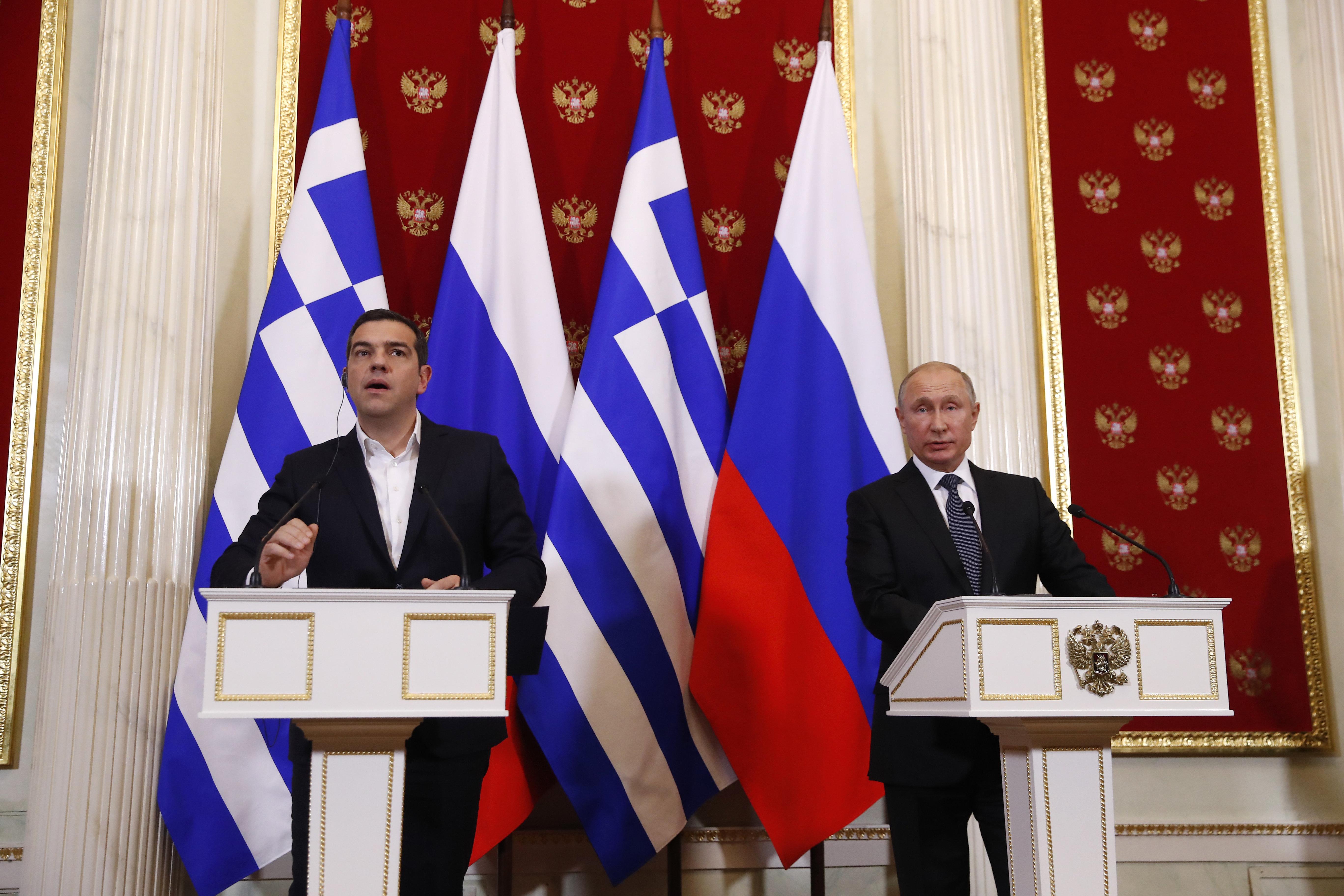 Τσίπρας - Πούτιν κλείνουν τη μαύρη σελίδα στις σχέσεις Ελλάδας - Ρωσίας με την υπογραφή