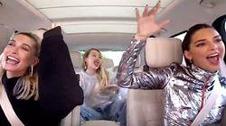 Miley Cyrus Crashes Kendall Jenner And Hailey Baldwin's 'Carpool