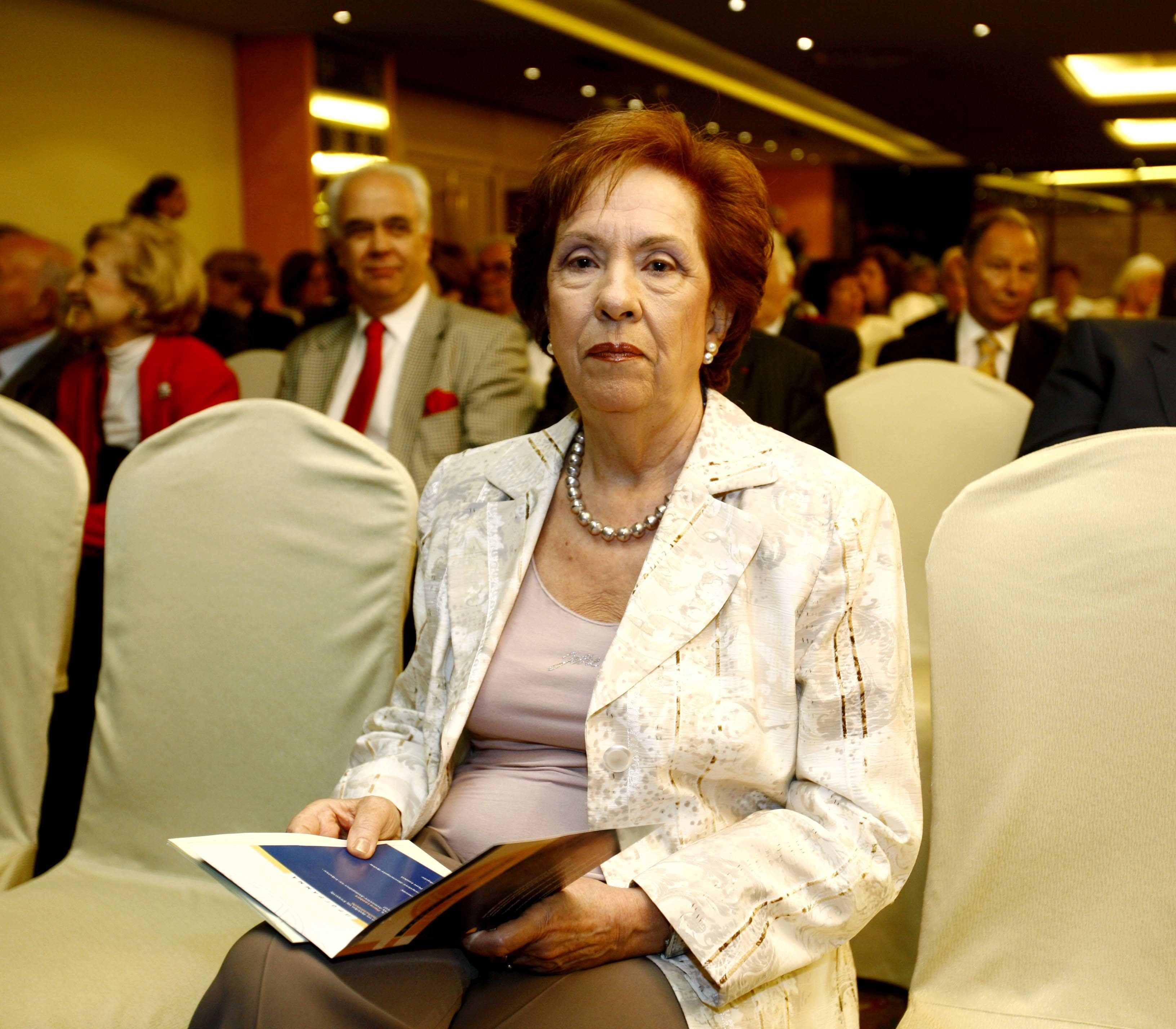Η Άννα Μπενάκη - Ψαρούδα εξελέγη αντιπρόεδρος της Ακαδημίας