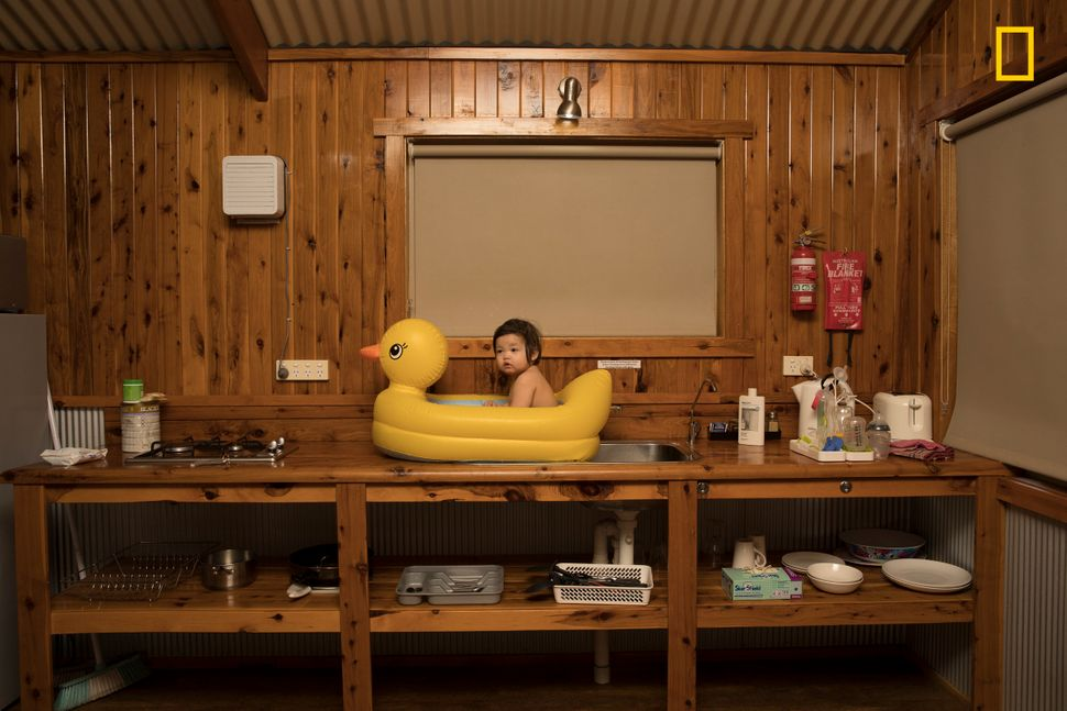 On a family holiday driving from Sydney to Uluru, we stopped at a roadside motel in the small rural township of Nyngan, on th