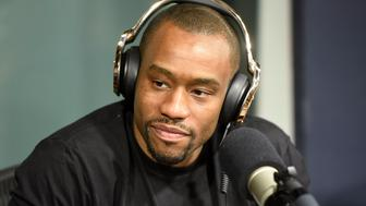 NEW YORK, NY - AUGUST 01:  Marc Lamont Hill visits 'Sway In The Morning' on Eminem's Shade 45 channel with Sway Calloway at SiriusXM Studio on August 1, 2016 in New York City.  (Photo by Matthew Eisman/Getty Images)