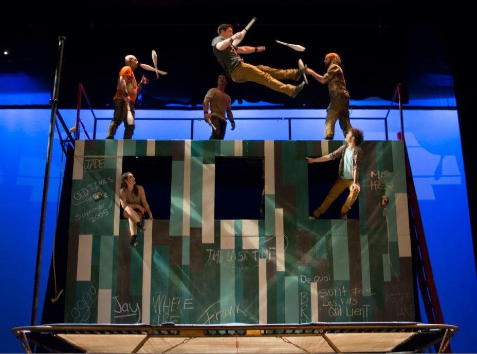 Χριστούγεννα με τους FLIP Fabrique: Το τσίρκο