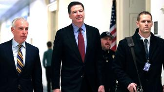 James Comey faces questions from House Republicans on Trump-Russia, Clinton email probes (ABC News)