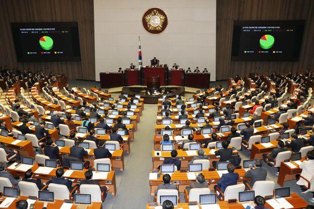 내년 예산안 469조5751억 결정…'유치원 3법'은