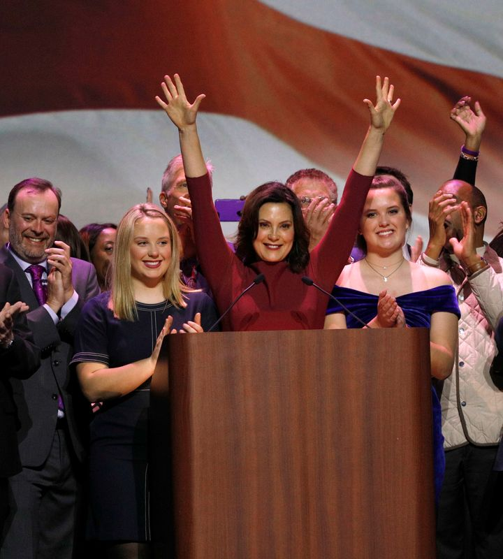 Gov.-elect Gretchen Whitmer, a Democrat, won the election in November and now Republicans are stripping her of power before s