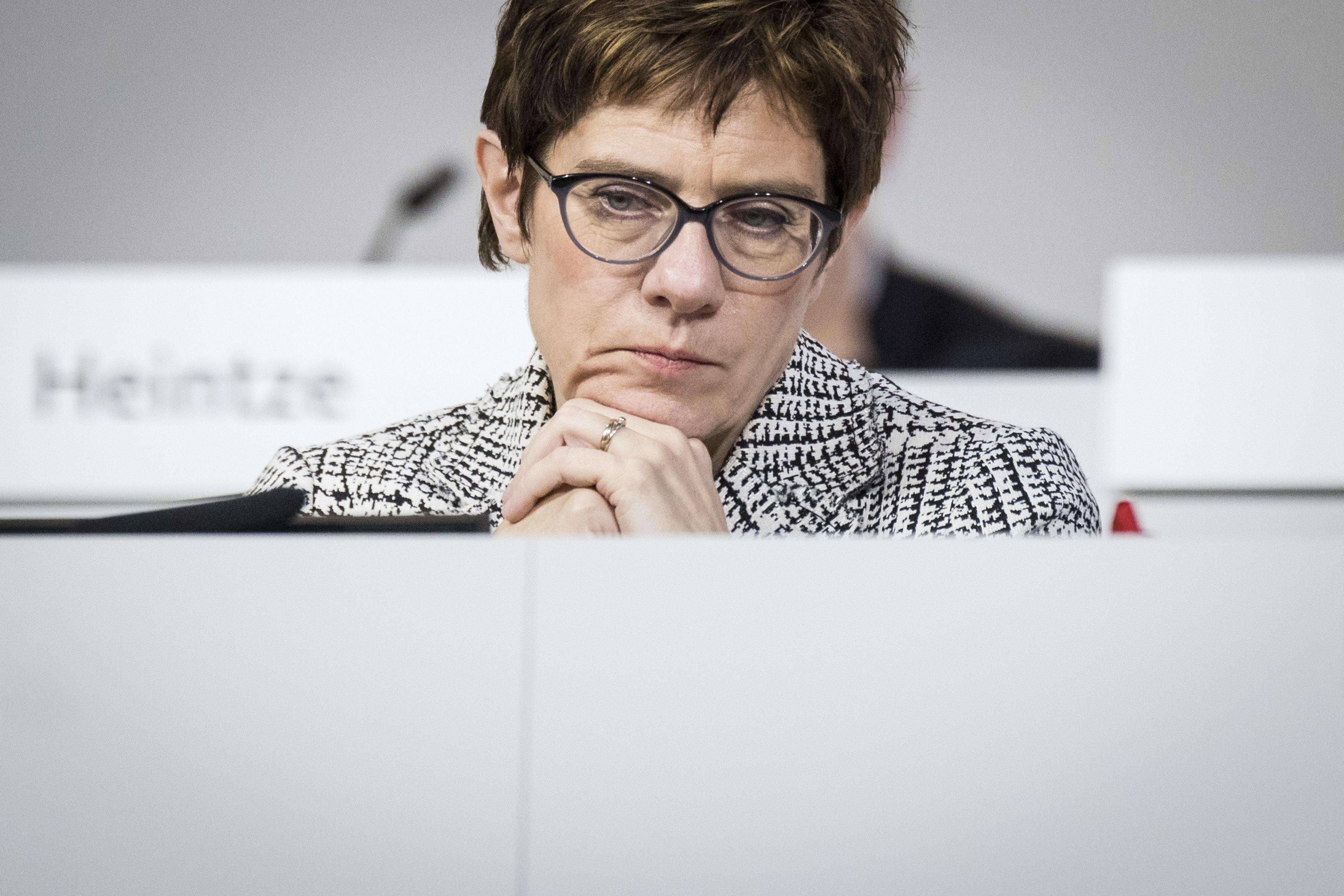 CDU-Vorsitz: Was jetzt die schwerste Aufgabe für Kramp-Karrenbauer