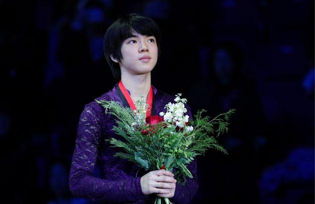 차준환이 그랑프리 파이널에서 한국 남자 선수 최초의 메달을