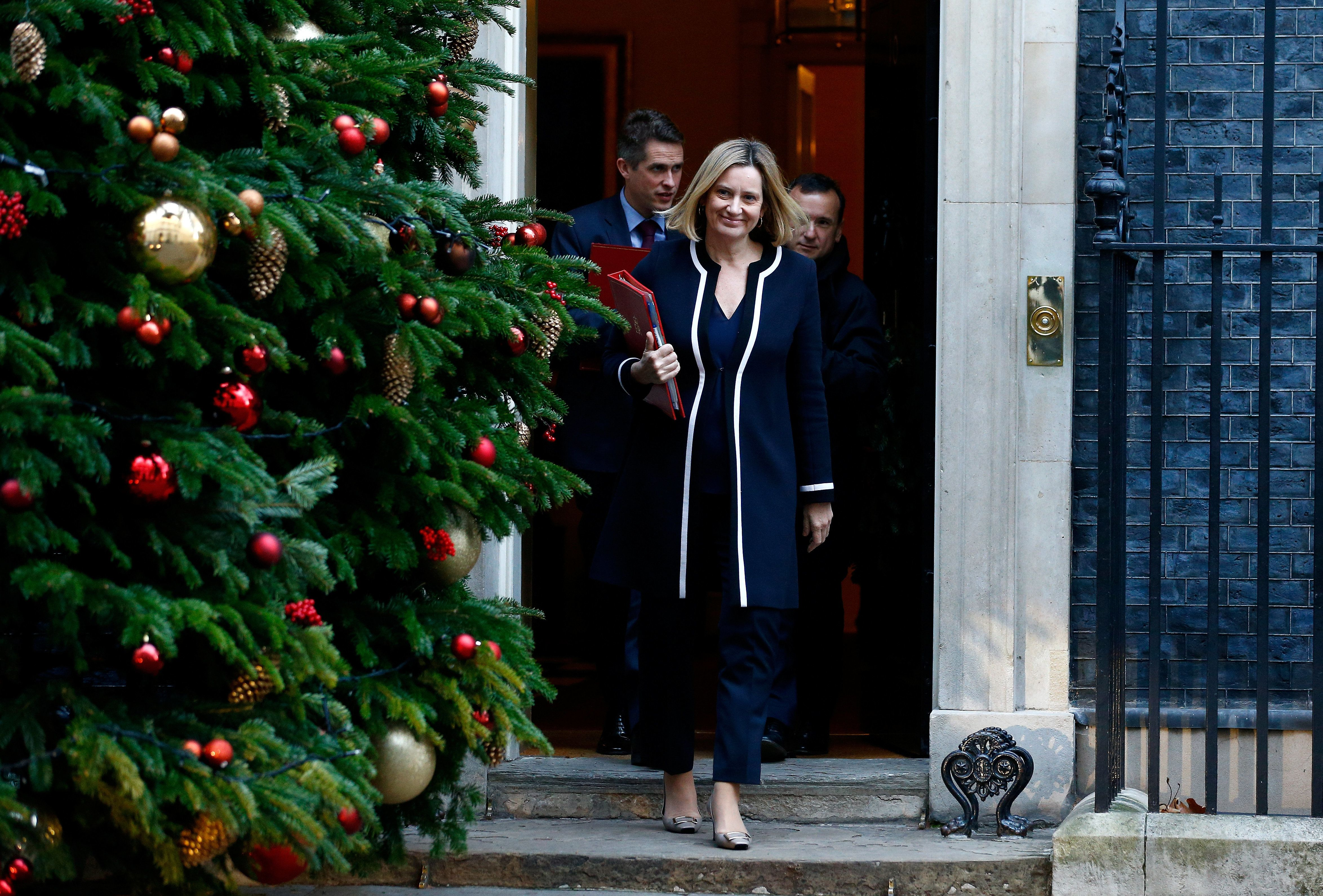 Amber Rudd Becomes First Cabinet Member To Raise 'Plan B' For