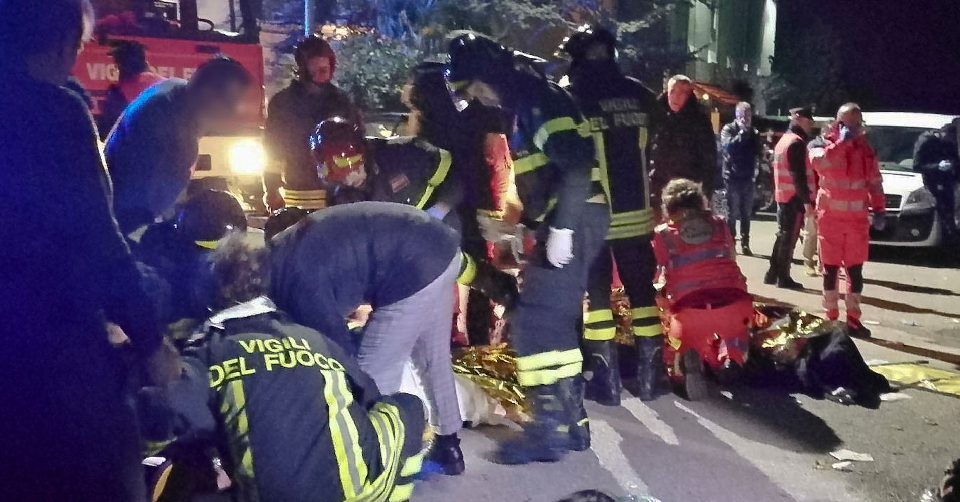 6 Dead And Dozens Injured Following Stampede At Italian