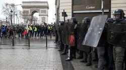 Gilets jaunes: 350 personnes interpellées ce samedi matin, Paris sous haute