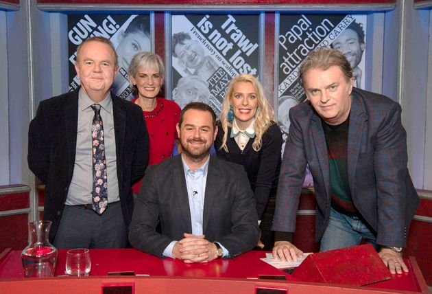 Danny took the helm of the BBC panel