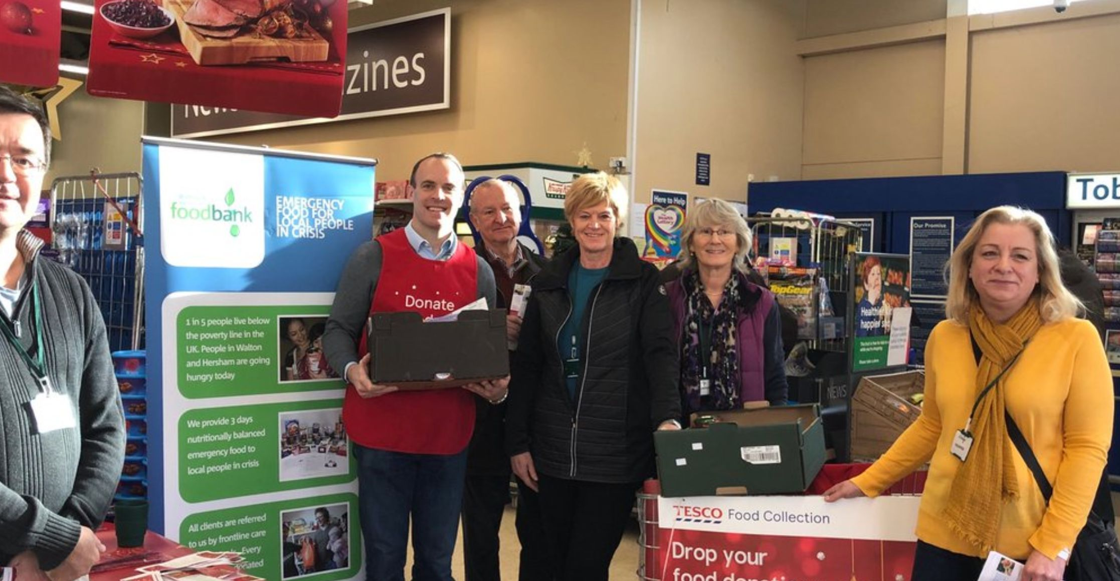 Dominic Raab Criticised For Foodbank Appeal After 'Cash Flow'