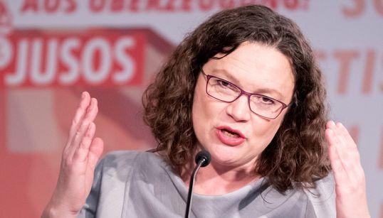 """SPD-Politiker wirft Nahles """"vorauseilenden Gehorsam"""" gegenüber der Union"""