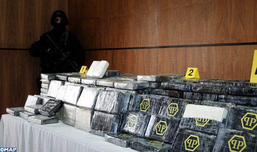 Le BCIJ saisit une tonne de cocaïne et arrête 7