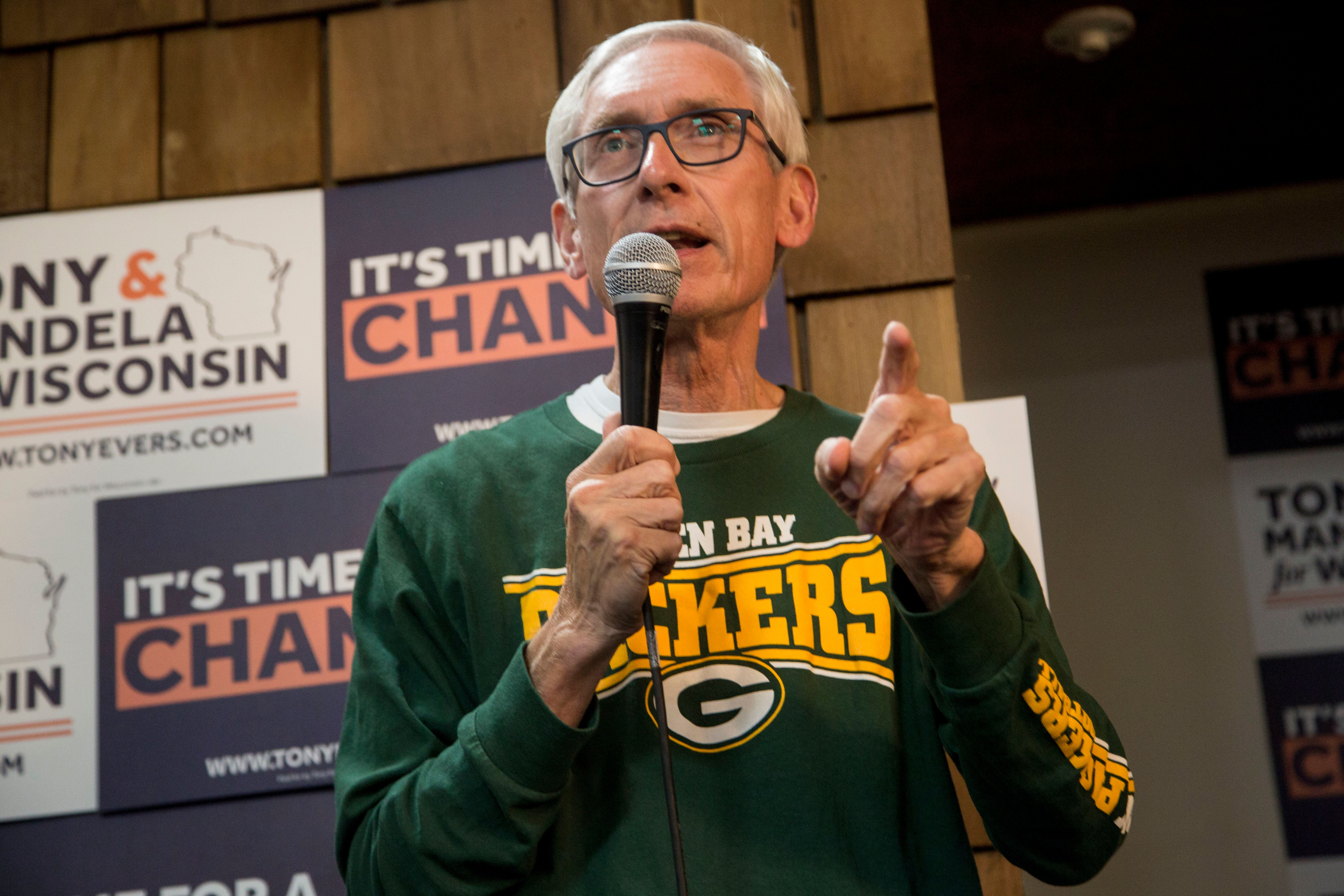 Tony Evers: Calling Wisconsin GOP Power Grab A Coup 'Seems