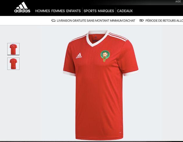 Le maillot de l'équipe nationale enfin disponible en ligne... pour 90