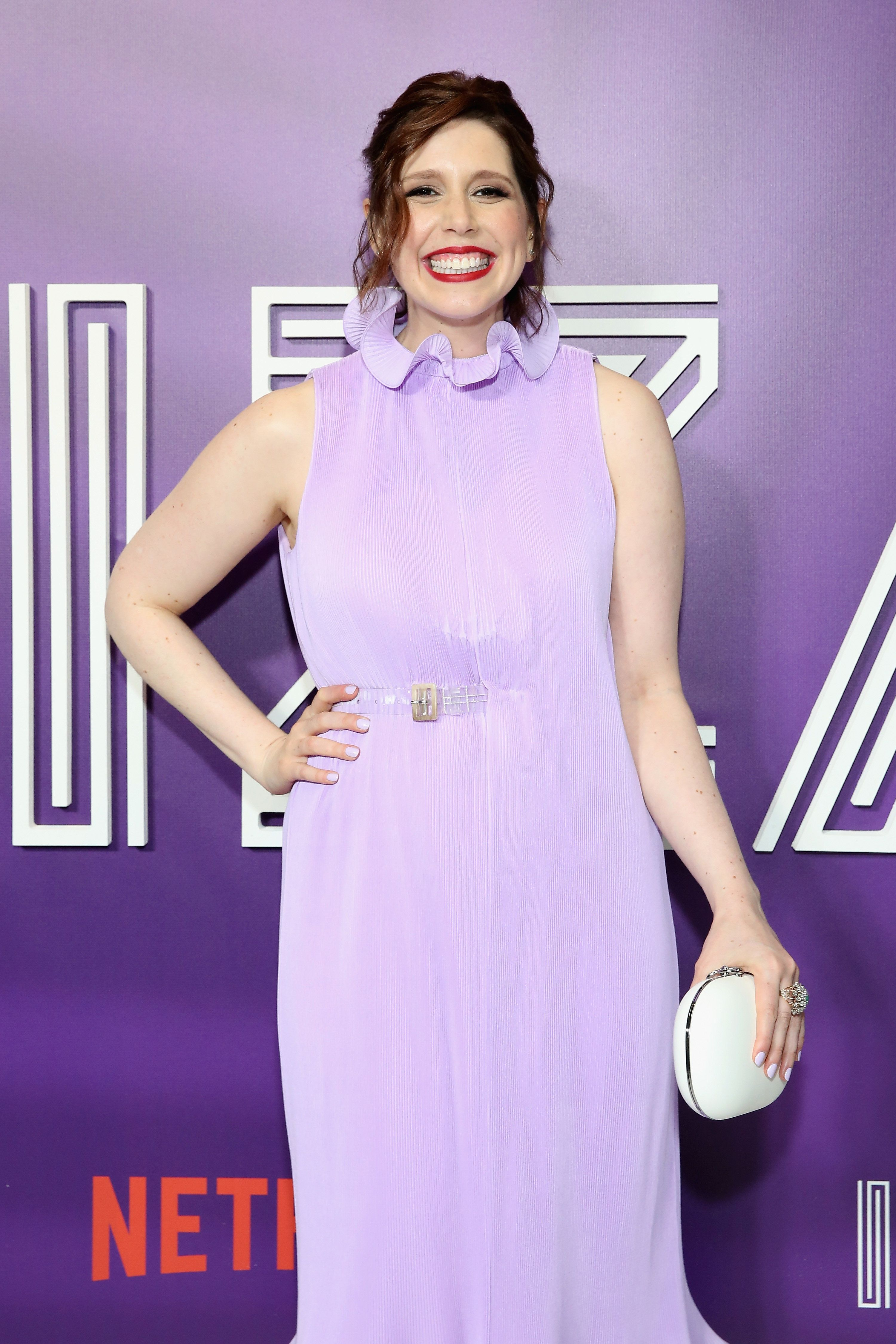 """Vanessa Bayer attends the premiere of the Netflix film """"Ibiza"""" last May in New York."""