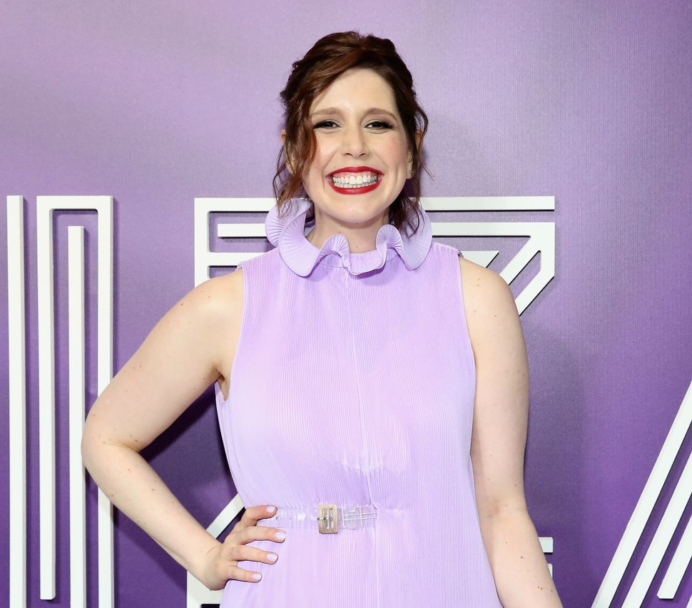 "Vanessa Bayer attends the premiere of the Netflix film ""Ibiza"" last May in New York."