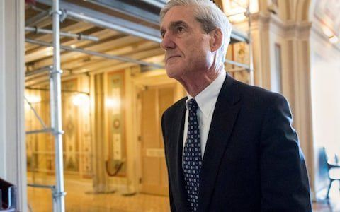 Special counsel Robert Mueller leaving after a meeting last year on Capitol Hill in Washington. (Photo: J. Scott Applewhite/A