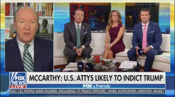Fox News Contributor: Trump 'Likely To Be Indicted' On Campaign Finance