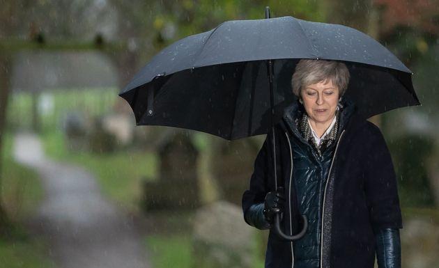 Theresa May steht vor ihrer bisher schwersten Belastungsprobe.