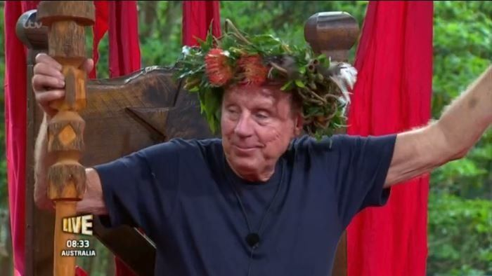 Harry Redknapp Crowned King Of The Jungle During 'I'm A Celebrity'