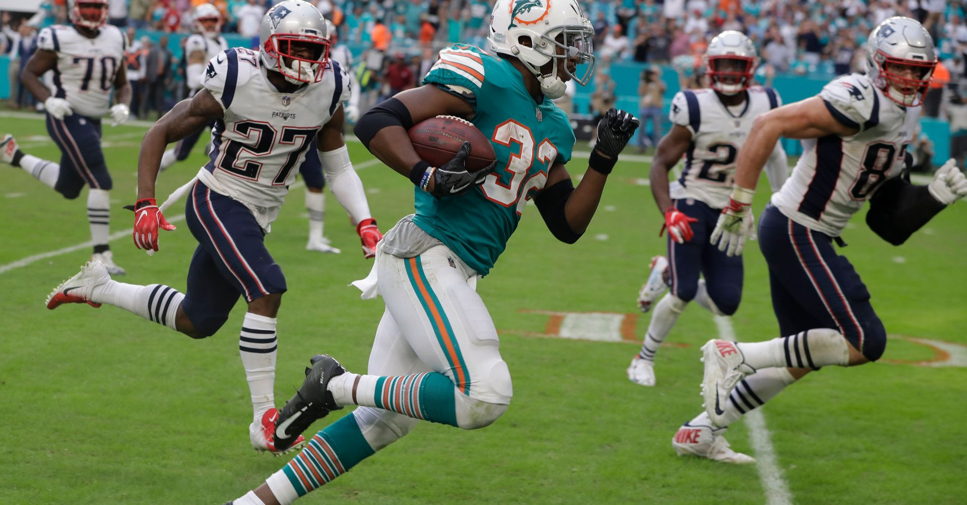Miami Dolphins Needed A Miracle To Beat The Patriots Watch What