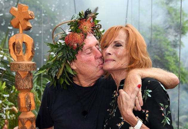 King Of The Jungle Harry with wife