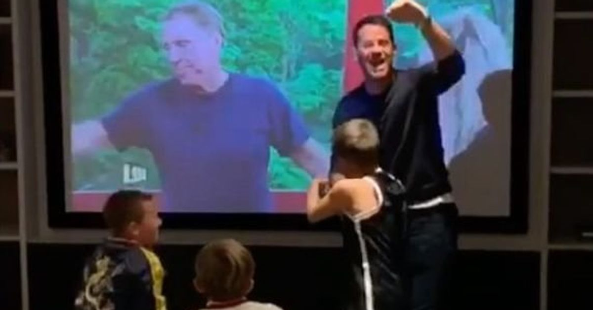 'I'm A Celebrity': Jamie Redknapp Shares Adorable Video Showing Reaction To Dad Harry's Win