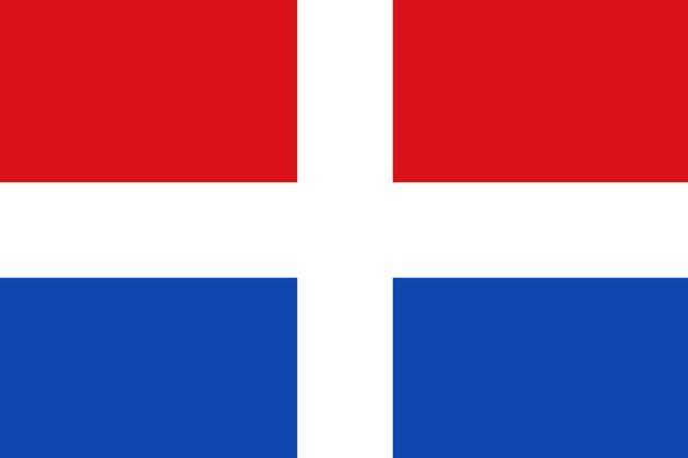 Η σημαία που συμβολίζει την ανεξαρτησία ελληνικού νησιού από τον τουρκικό