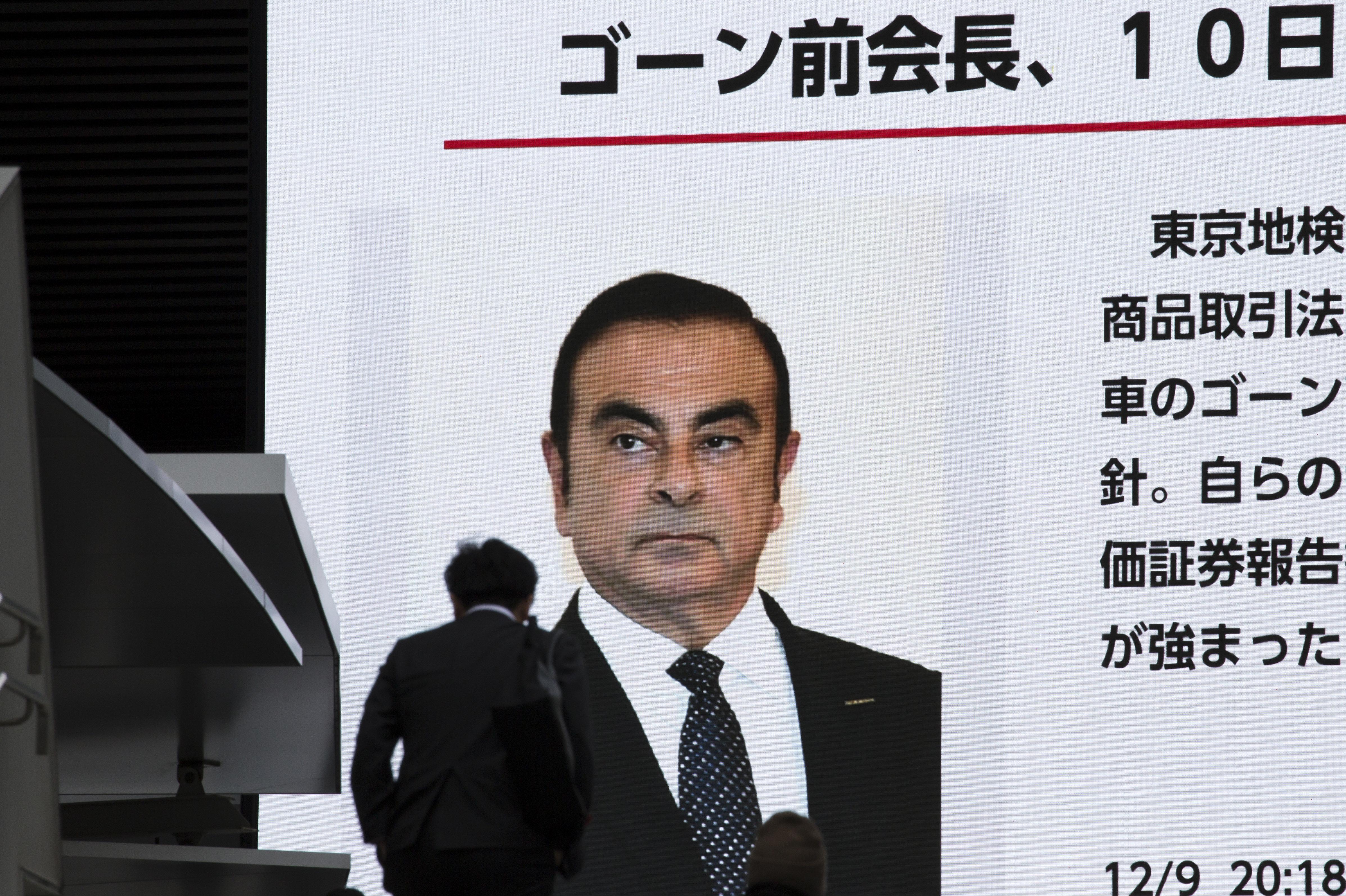 Carlos Ghosn, inculpé, reste en prison au