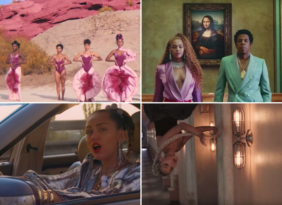 A Countdown Of The 20 Music Videos That Had Us Talking In