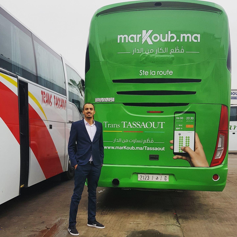 Retour sur la success story de MarKoub.ma, la start-up marocaine de réservation de billets