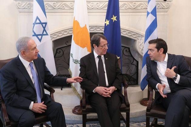 Θεσμοθετημένο πλαίσιο της περιφερειακής συνεργασίας Ελλάδος-Κύπρου-Ισραήλ επιδιώκουν οι