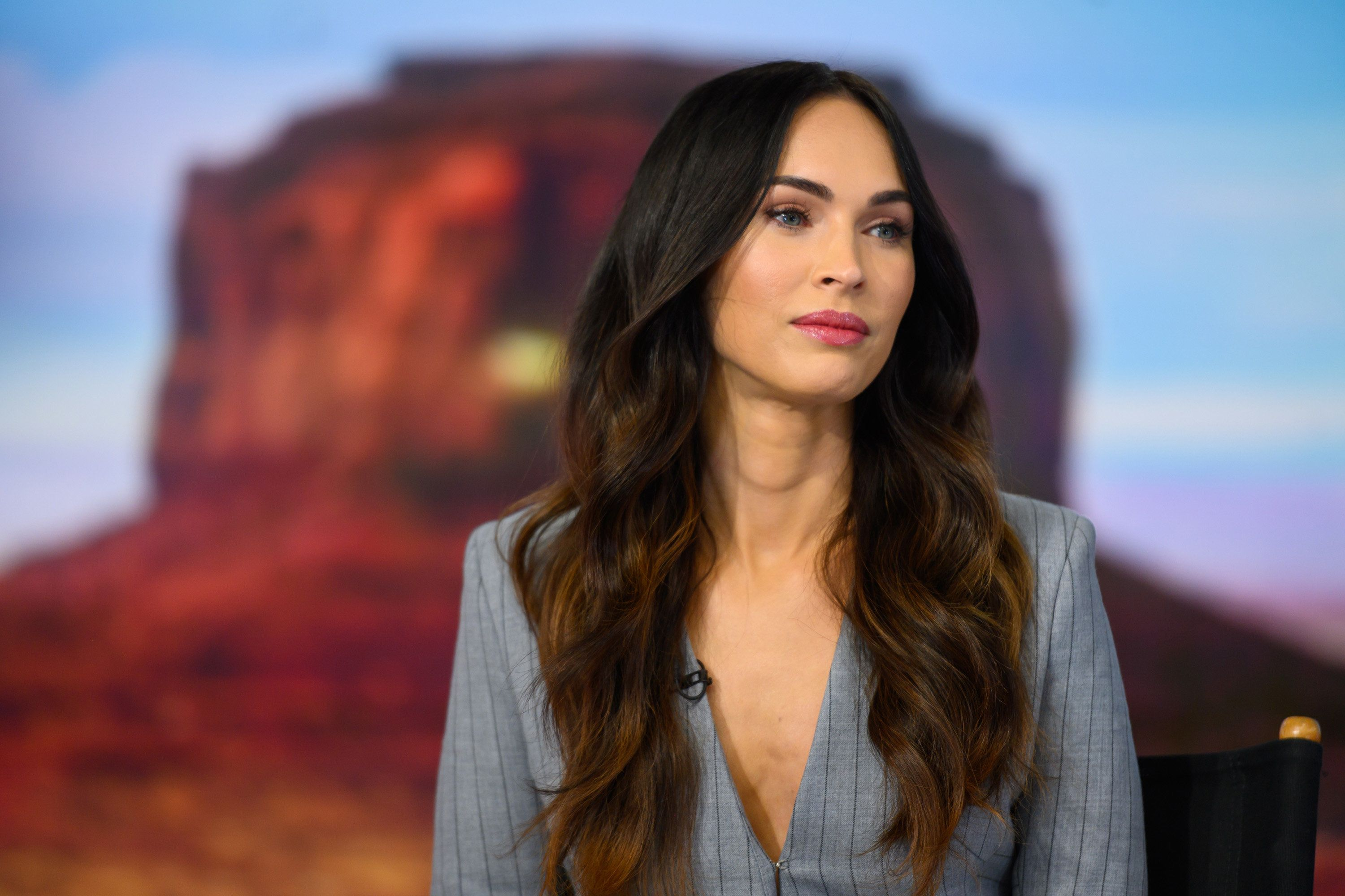 TODAY -- Pictured: Megan Fox on Wednesday, November 28, 2018 -- (Photo by: Nathan Congleton/NBC/NBCU Photo Bank via Getty Images)