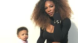 Serena Williams Shares Weirdly Wonderful Pic Of Daughter And