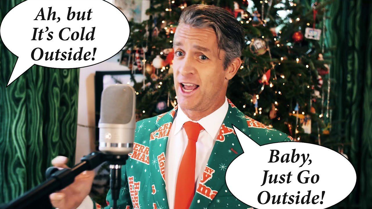 This Viral Rewrite Of 'Baby, It's Cold Outside' Emphasizes
