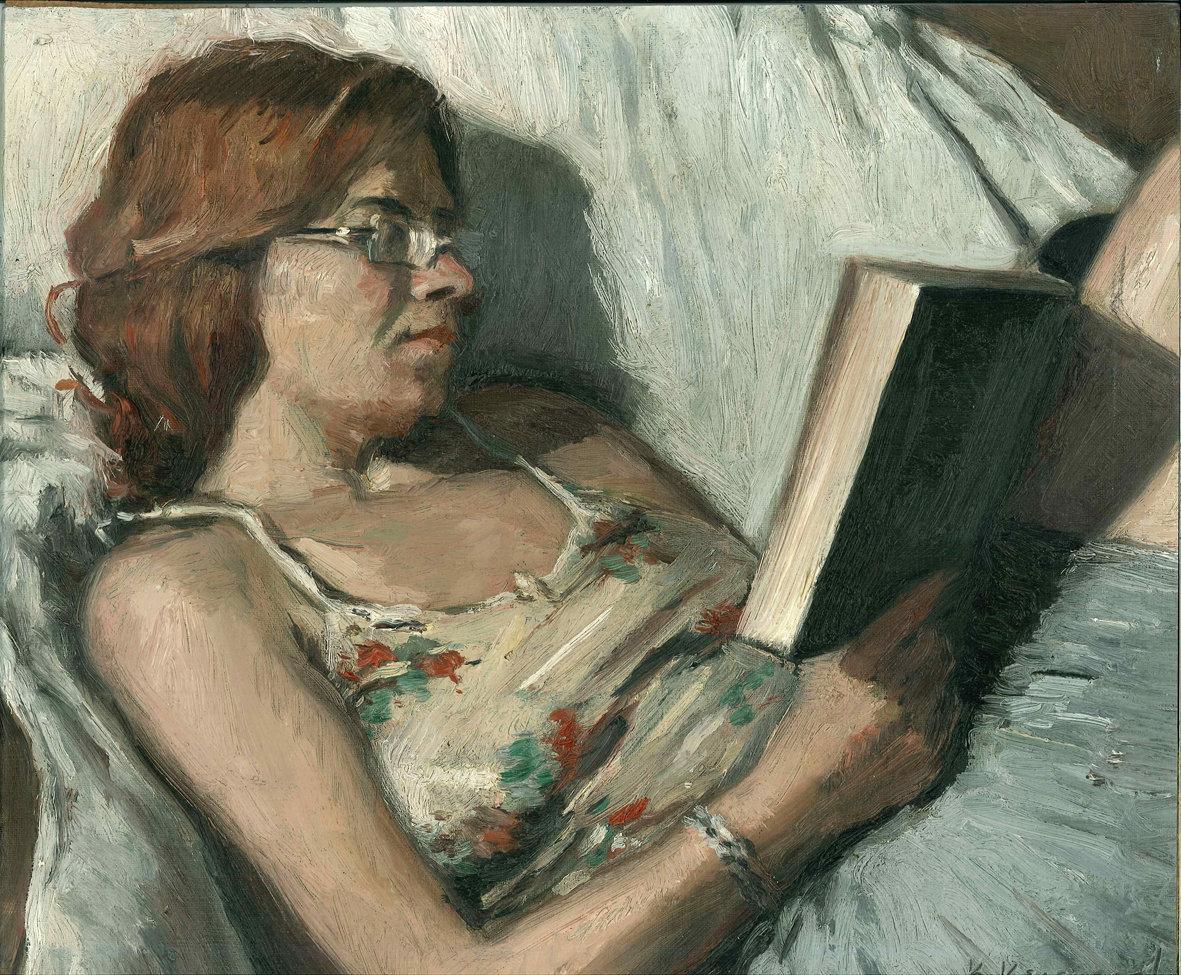 Η Μαργαρίτα που διαβάζει...