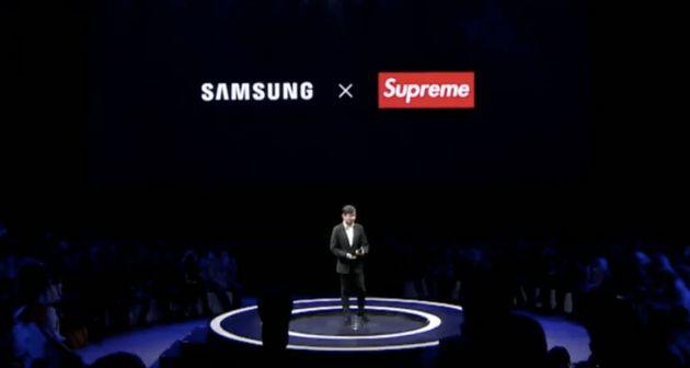 Le vrai Samsung annonce une collaboration avec un faux