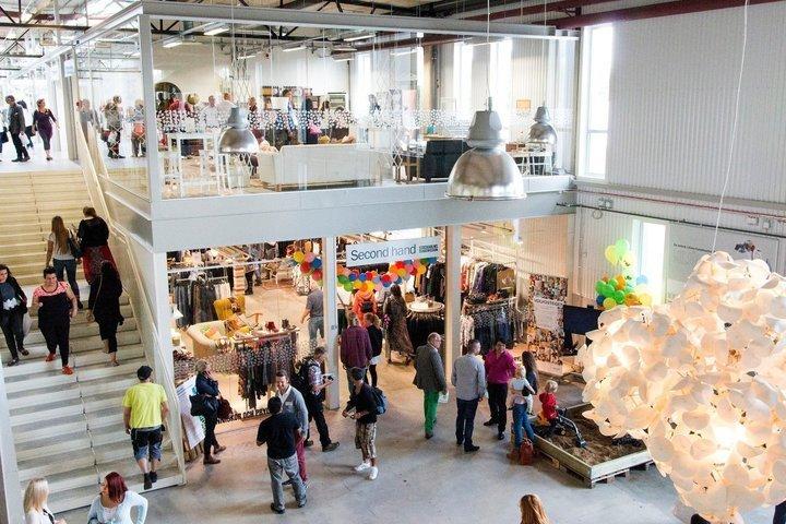 Das ist das erste Secondhand-Einkaufszentrum der Welt – so sieht es darin