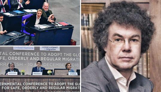 Wie ein Leipziger europaweit den Migrationspakt ins Wanken