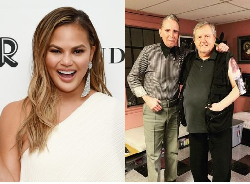 Chrissy Teigen's Dad Gets A Totally Normal Tattoo Of Her Face For Her