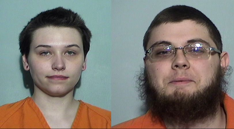 Elizabeth Lecron, 23, and Damon Joseph, 21, are being charged for separate alleged terror plots.
