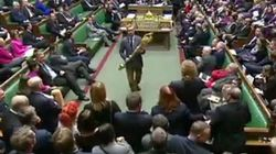 Wild Scenes In Parliament As MP Kicked Out For Grabbing Ceremonial Mace In Brexit