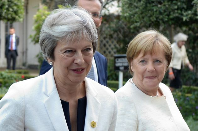 Theresa May To Meet Angela Merkel In Last-Ditch European Tour To Save Brexit