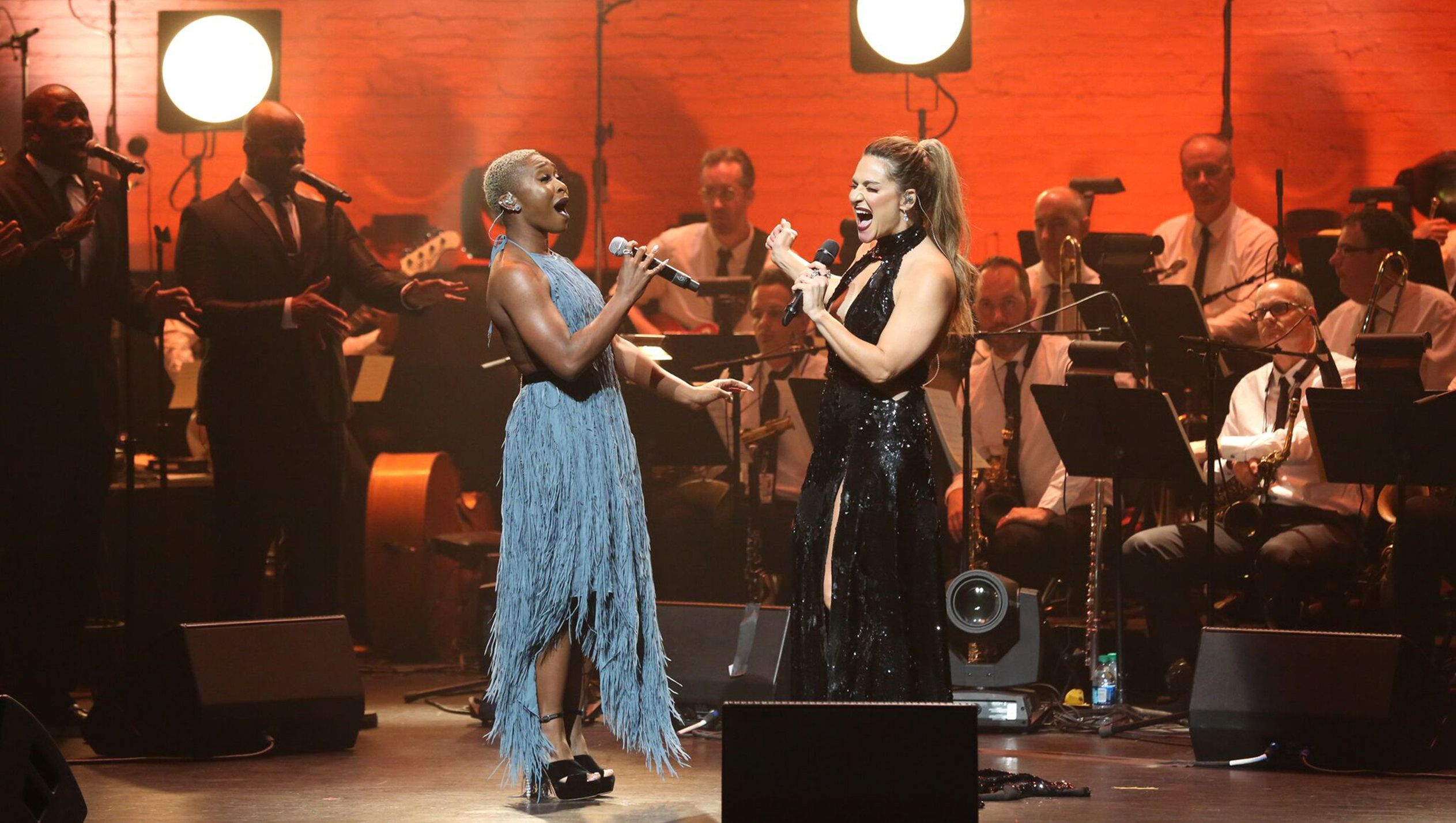 "Cynthia Erivo and Shoshana Bean will perform ""Night Divine"" Dec. 17 at the Apollo Theater in New York."