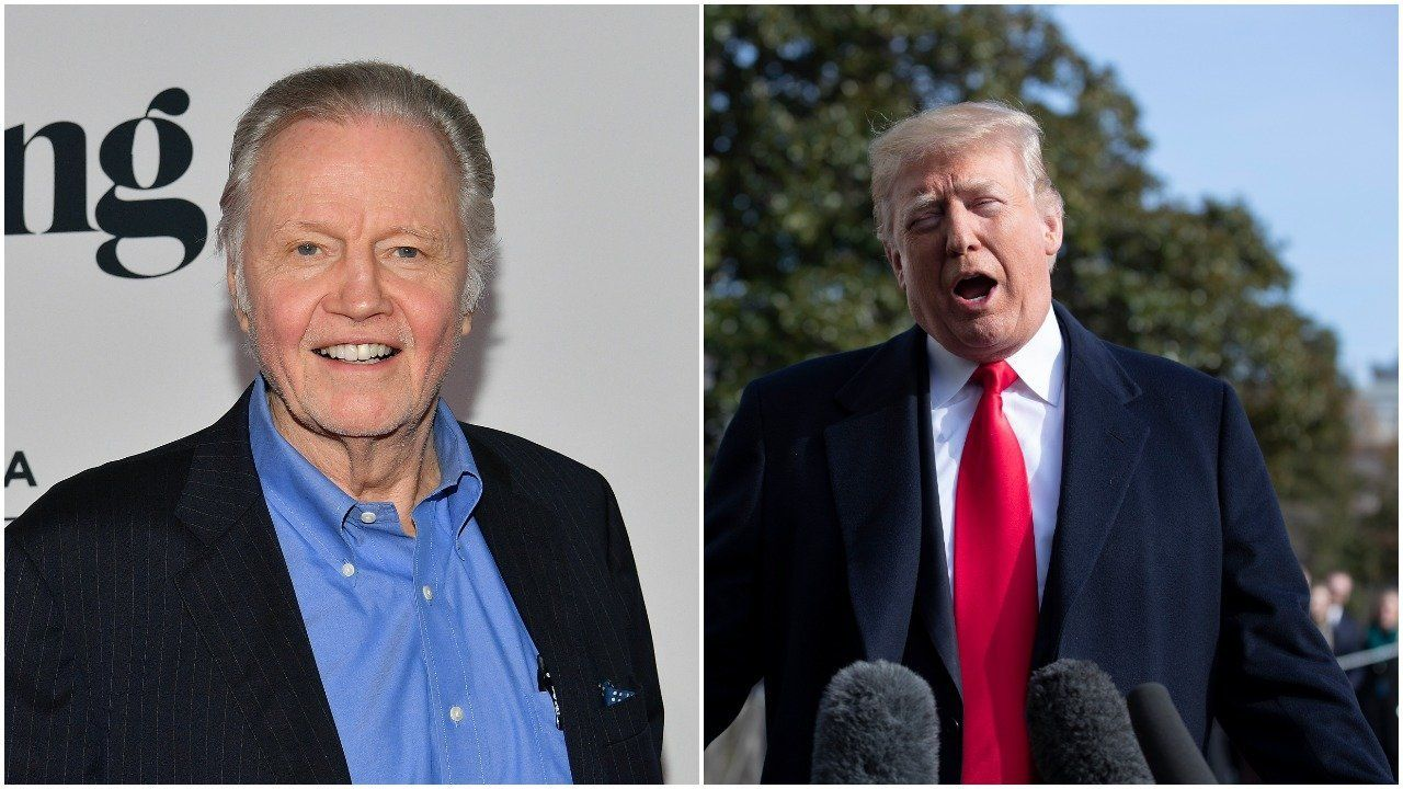 Jon Voight Appears Game To Be Trump's Chief Of Staff, And Hilarity