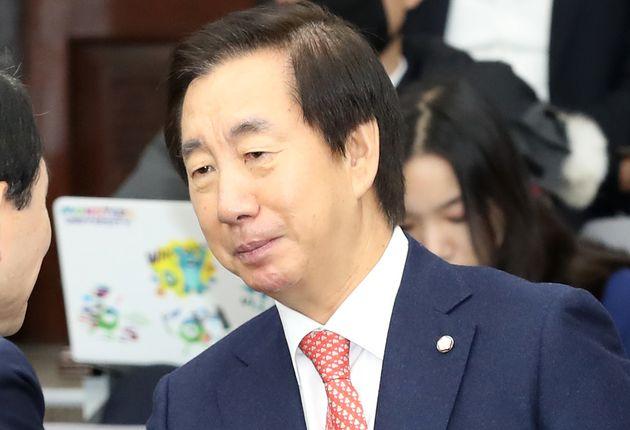 임기 마지막 날을 맞은 김성태가 문재인 대통령과 민주당에 전한