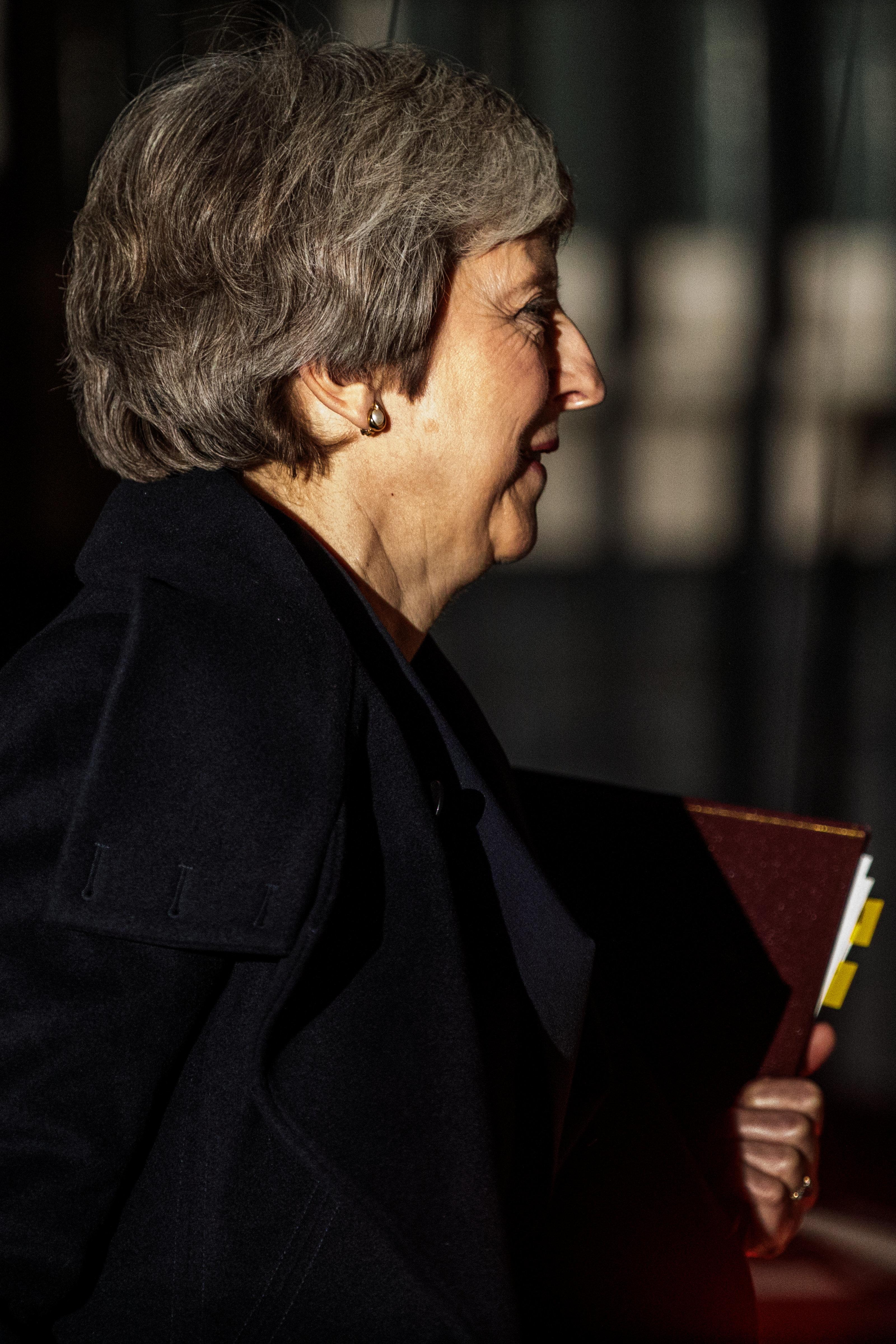 영국 총리가 브렉시트 의회 표결을 전격